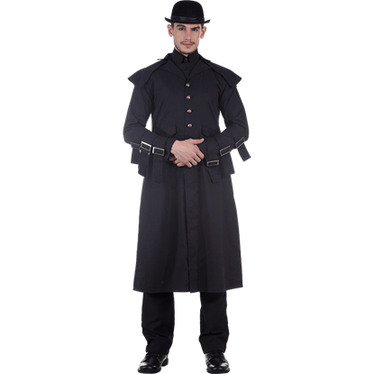 Cavalier Gentlemans Steampunk Coat