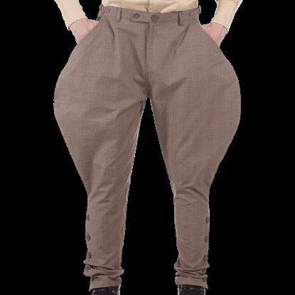 Elegant Steampunk Jodhpur Pants
