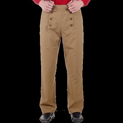 Brown Steampunk Architect Pants