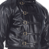 Faux Leather Steampunk Short Jacket