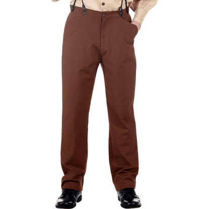 Classic Brown Steampunk Trousers