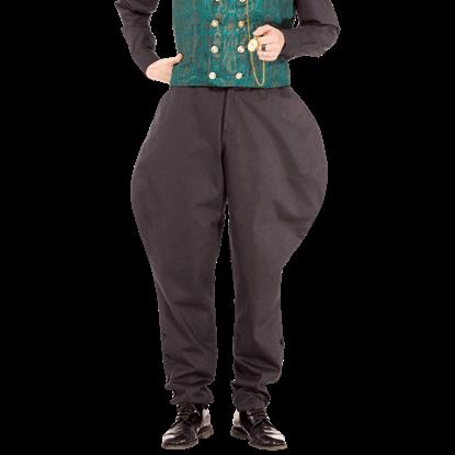 Admiral Bartholomew Black Pants