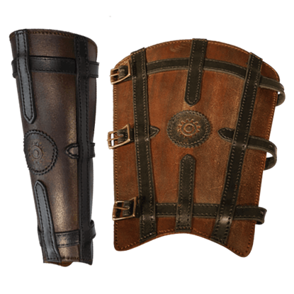 Sorcerer's Leather Greaves