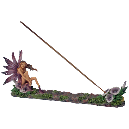 Fairy With Lilacs Incense Burner