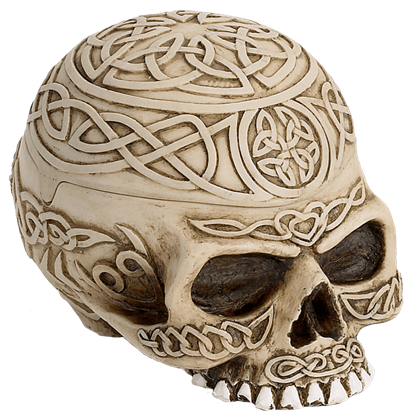 Celtic Skull Box