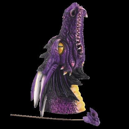 Vertical Dragon Head Incense Burner