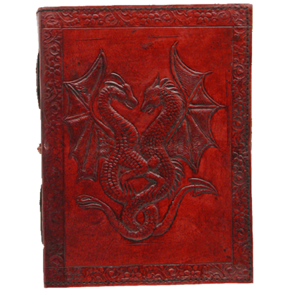 Double Dragon Leather Journal