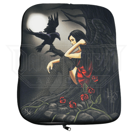 Dark Fairy and Raven Tablet Case