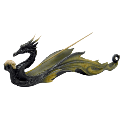 Mystic Black Dragon Incense Holder