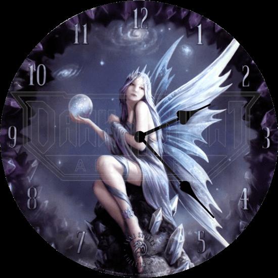 Anne Stokes Stargazer Wall Clock