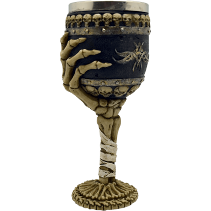 Skeleton Arm Goblet