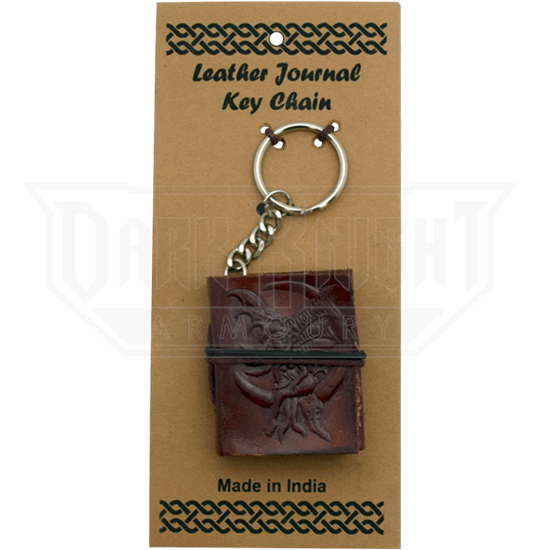Fairy Leather Embossed Journal Key Chain