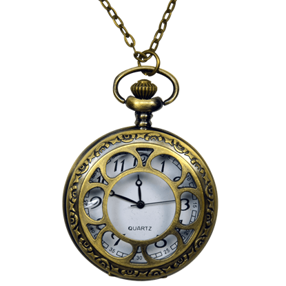 Victorian Window Pane Pocket Watch
