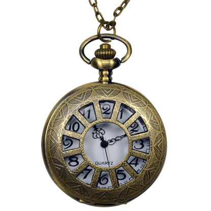 Antique Window Pane Pocket Watch