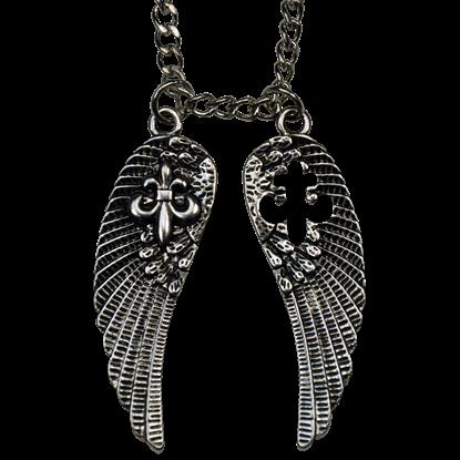 Double Wing Fleur Necklace