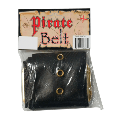 Wide Pirate's Belt