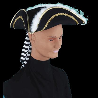 Decorative Pirate Captain's Hat