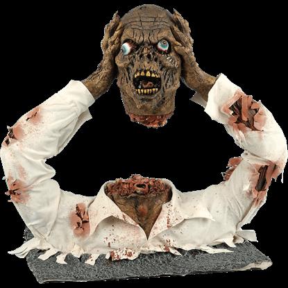 Screaming Headless Zombie