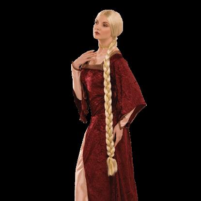 Blonde Princess Ponytail Wig