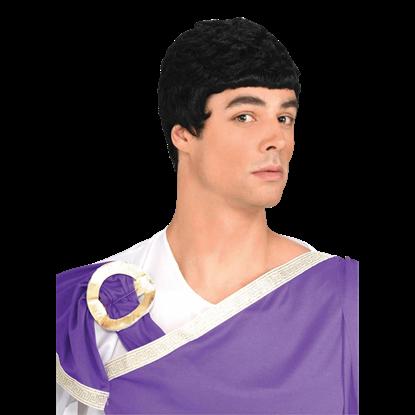 Black Caesar Wig