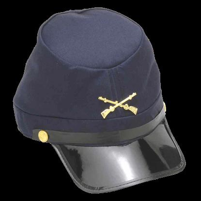 Civil War Union Kepi Cap