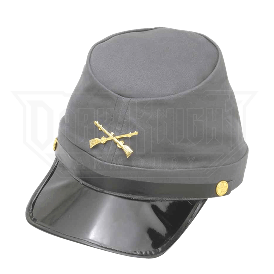 Civil War Confederate Kepi Cap