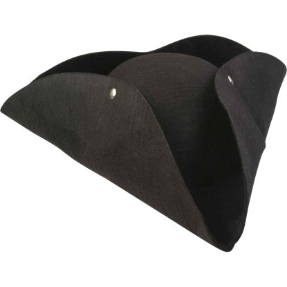 Deluxe Molded Pirate's Hat
