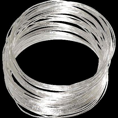 Silver Pirate Bangle Bracelets
