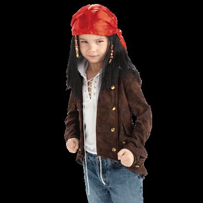 Child's South Seas Buccaneer Wig