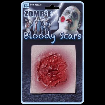 Bloody Zombie Scar