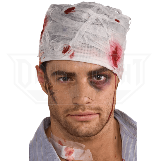 c55002d5db1 Bloody Head Bandage - FM-66194 from Leather Armor