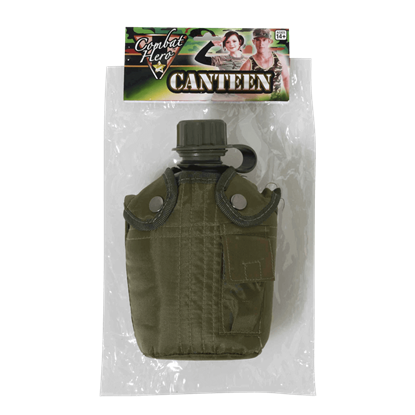 Army Green Combat Canteen
