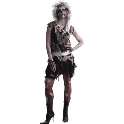 Women's Punk Zombie Costume