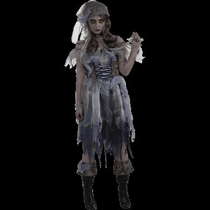 Ghost Pirate Women's Costume