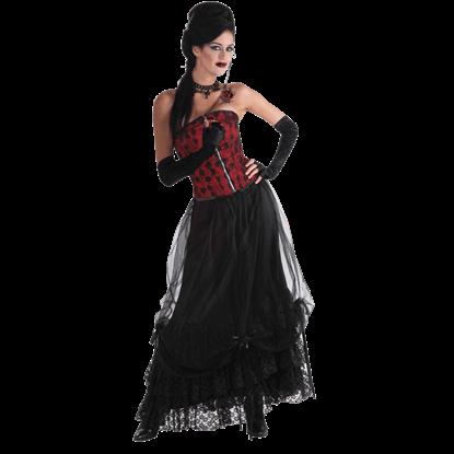 Black Midnight Gathering Skirt