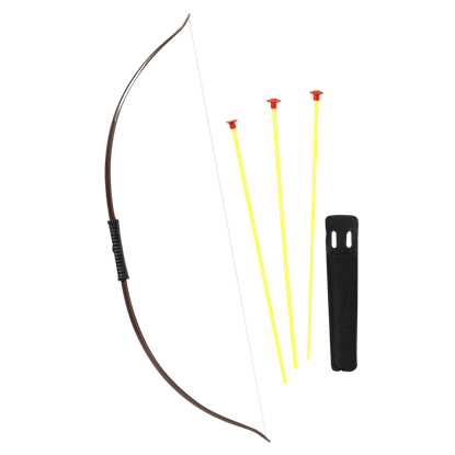 Archer's Bow and Arrow Prop Set