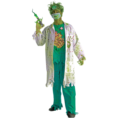 11de568cc88 Biohazard Zombie Janitor Costume - FM-68755 from Leather Armor ...