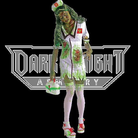 Biohazard Zombie Nurse Costume