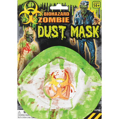 Biohazard Zombie Dust Mask