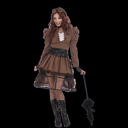 Steampunk Vicky Women's Costume