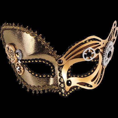 Neo-Venetian Half Mask
