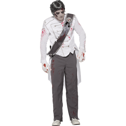Charming Zombie Prince Costume