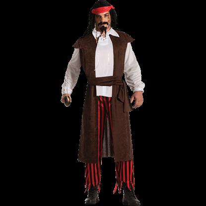 Buccaneer Baron Costume Shirt