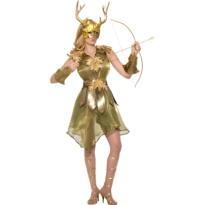Goddess of the Hunt Costume
