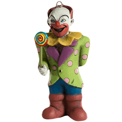 Bad Clown Horror Ornament