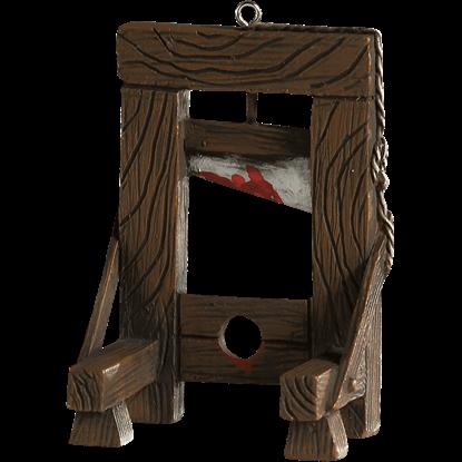 Guillotine Horror Ornament