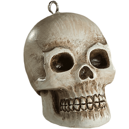 Friendly Skull Horror Ornament