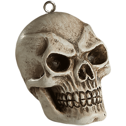 Evil Skull Horror Ornament