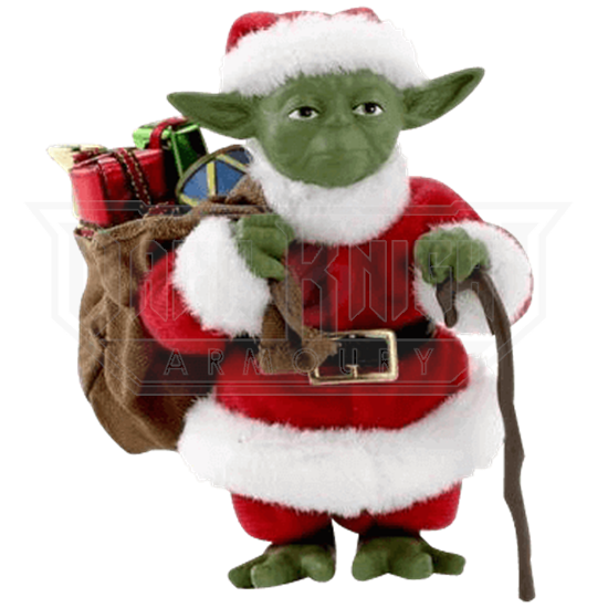 579ee0f3b75c9 Star Wars Fabriche Santa Yoda Statue - KT-SW0117 from Leather Armor ...