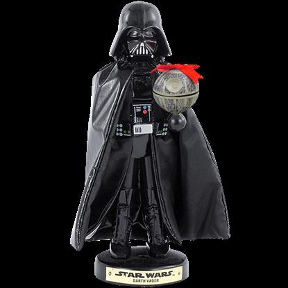 Star Wars Darth Vader with Death Star Nutcracker